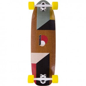 "Loaded Truncated Tesseract 33"" longboard complete"