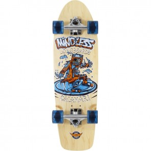 "Mindless Calamari II Natural 29.5"" cruiser board complete"