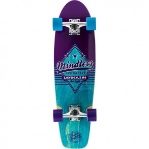 "Mindless Daily Grande II Blue-Purple 28"" cruiser complete"