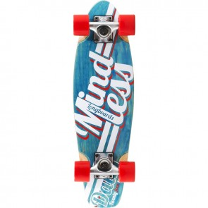 "Mindless Daily Stain 24/7 Blue 24"" mini cruiser complete"
