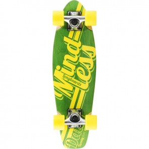 "Mindless Daily Stain 24/7 Green 24"" mini cruiser complete"