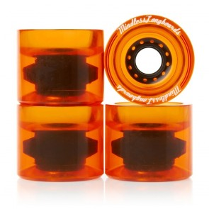 Mindless Outlaws Orange 68mm 83a longboard wielen