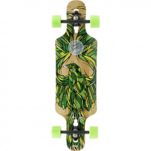 "Mindless Raven III X-Kook Talisman 34"" drop-through longboard complete"