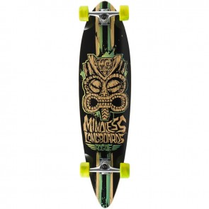"""Mindless Rogue II Limited-Edition Green 38"""" longboard complete"""