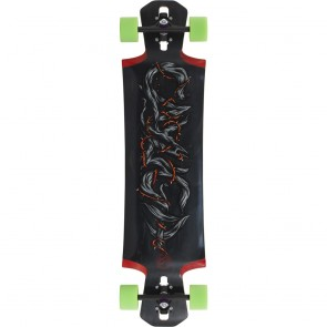 "Mindless Voodoo Cayuga II 39"" drop-through longboard complete"
