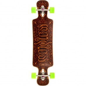 "Mindless Voodoo Nyoka 40"" drop-through longboard complete"