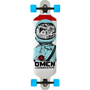 "Omen Astronaut 38"" drop-through longboard complete"