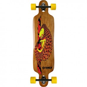 "Omen Chinchilla 41"" drop-through longboard complete"