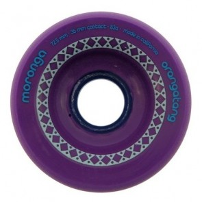 Orangatang Moronga 72.5mm 83a Purple longboard wheels