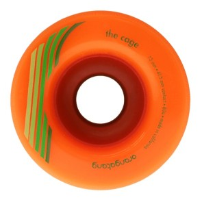Orangatang The Cage 73mm 80a Orange longboard wheels