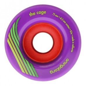 Orangatang The Cage 73mm 83a Purple longboard wheels