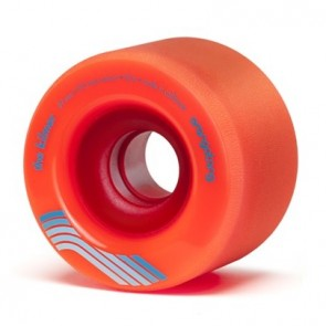 Orangatang The Kilmer 69mm 80a Orange longboard wheels