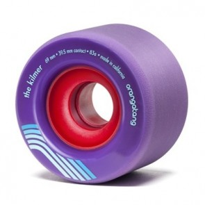 Orangatang The Kilmer 69mm 83a Purple longboard wheels