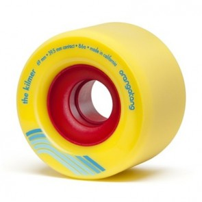 Orangatang The Kilmer 69mm 86a Yellow longboard wheels