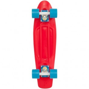 "Penny Original Red Blue 22"" retro skateboard complete"