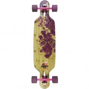 "Riviera Cherry Blossom Mini 38"" drop-through longboard complete"