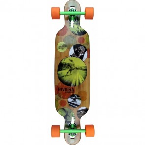 "Riviera Evolution 37.8"" drop-through longboard complete"