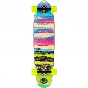 "Riviera Glass Off 40"" kicktail longboard complete"