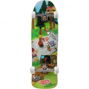 "Riviera Gnaratz - Brad Parker 33"" skateboard longboard complete"