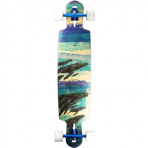 "Riviera La Ballenas 41.3"" drop-through longboard complete"