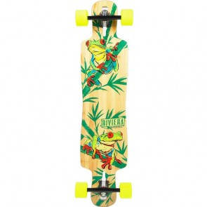"Riviera La Rana 40"" drop-through longboard complete"