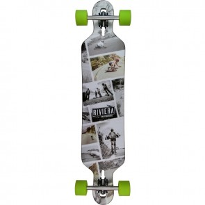 "Riviera Ride Free 41.3"" drop-through longboard complete"