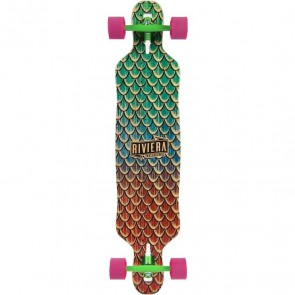 "Riviera Sea Snake 41.5"" drop-through longboard complete"