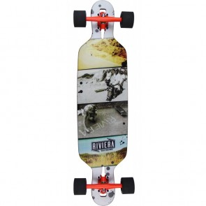 "Riviera Venture 37.8"" drop-through longboard complete"