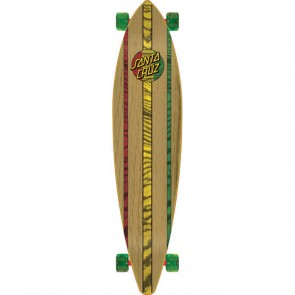 Santa Cruz Mahaka Rasta Dub 43.5 pintail longboard complete