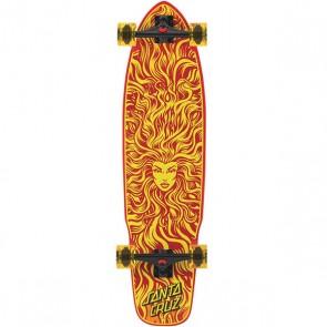 "Santa Cruz Sun Goddes Flex tech 38"" kicktail longboard complete"