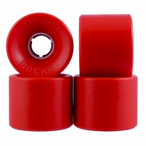 Tunnel Rocks Red 63mm Longboard wielen (78a)