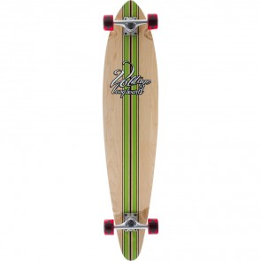 """Voltage Big Pintail Green 42"""" longboard complete"""